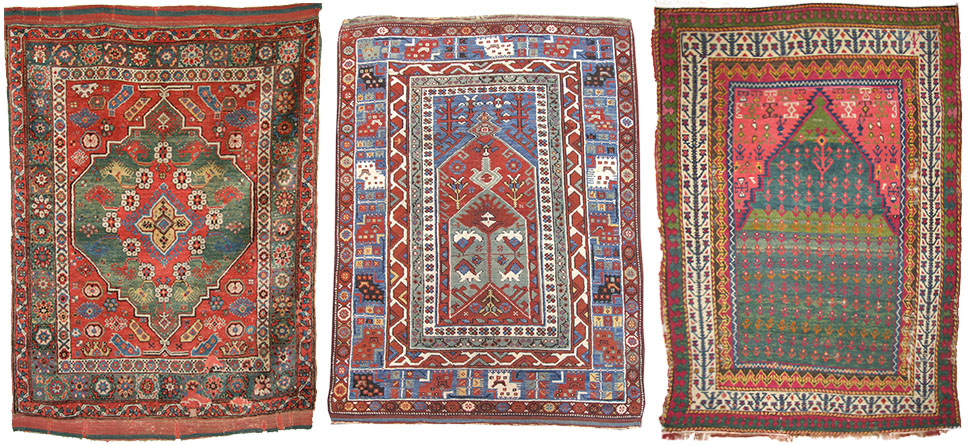 Anatolian village rugs