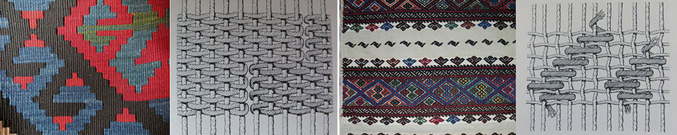 Kilim_flat_weaving_samples_2