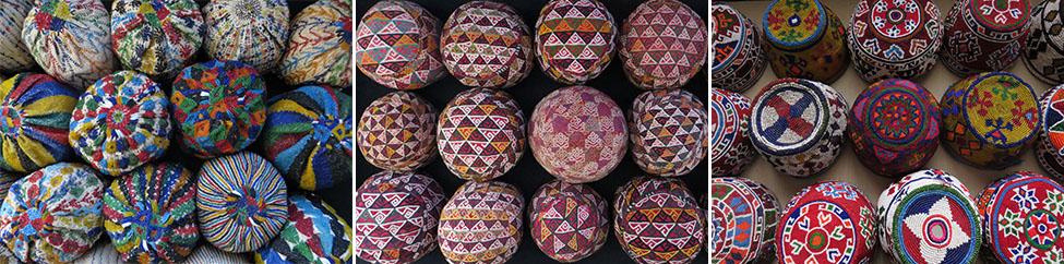 Chodor Turkmen hats